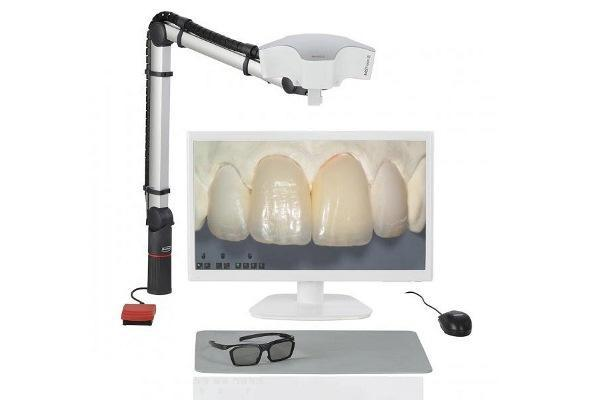 Микроскоп EASY view 3D с функцией видеозаписи и стереодисплеем от Renfert
