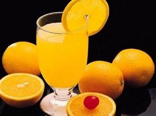 апельсины и апельсиновый сок