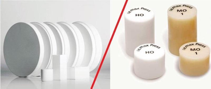 Что лучше - диоксид циркония (ZrO2) или силикат лития (E.maх)?