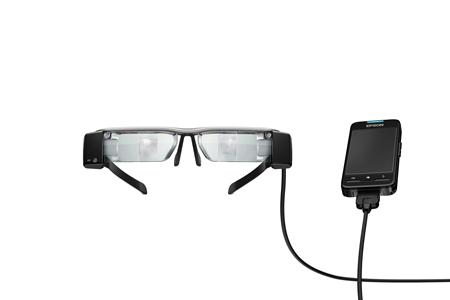 Смарт-очки Epson Moverio BT-200